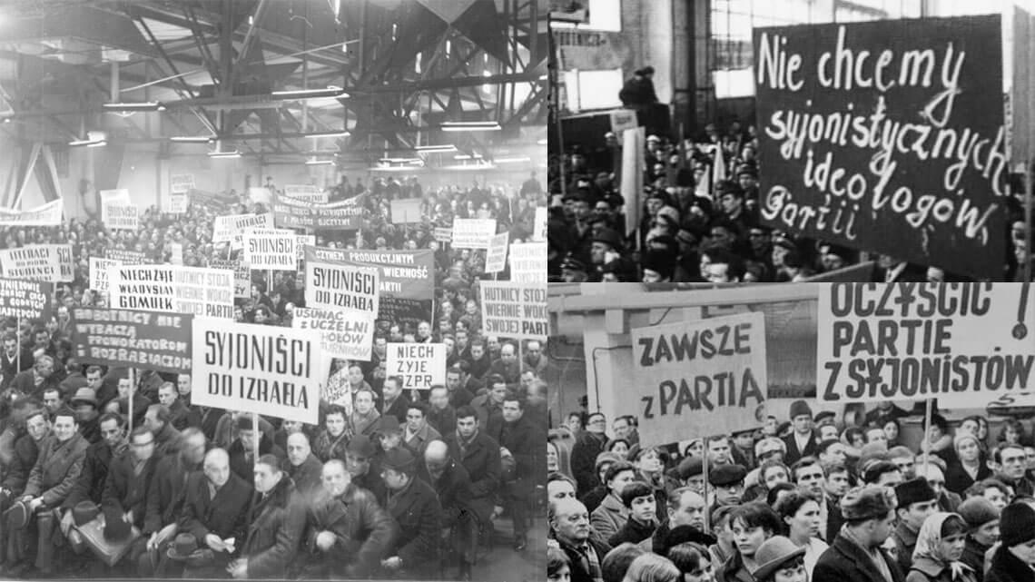 marzec-1968-antysemityzm
