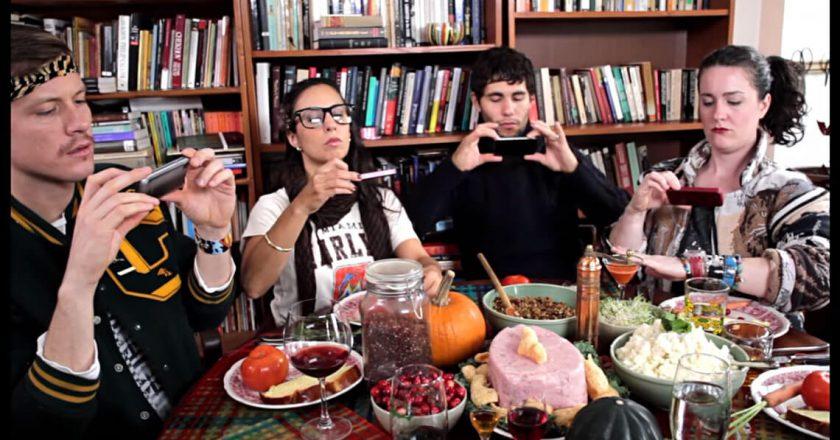 hipster-thanksgiving-jedzenie-zywnosc-wegetarianizm