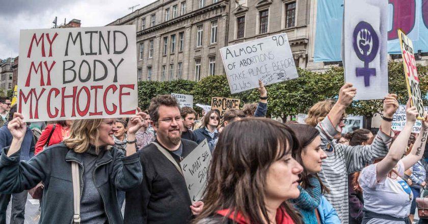 Demonstracja ruchów pro-choice w Dublinie, 2012. Fot. William Murphy