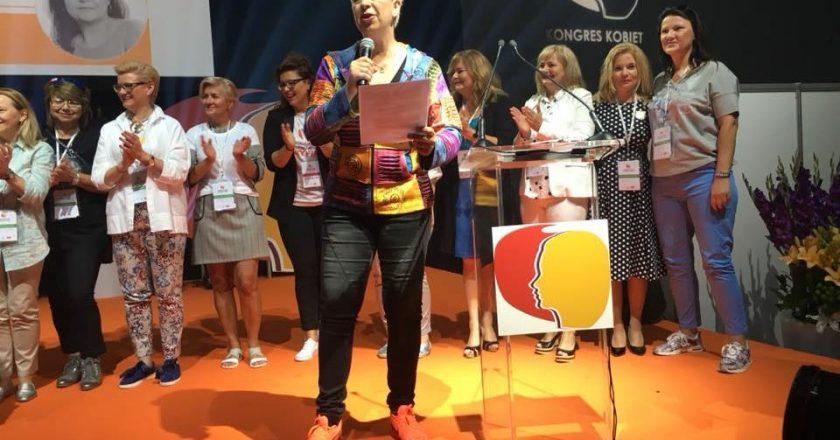 Kongres Kobiet 2018. Fot. FB Agata Jankowska