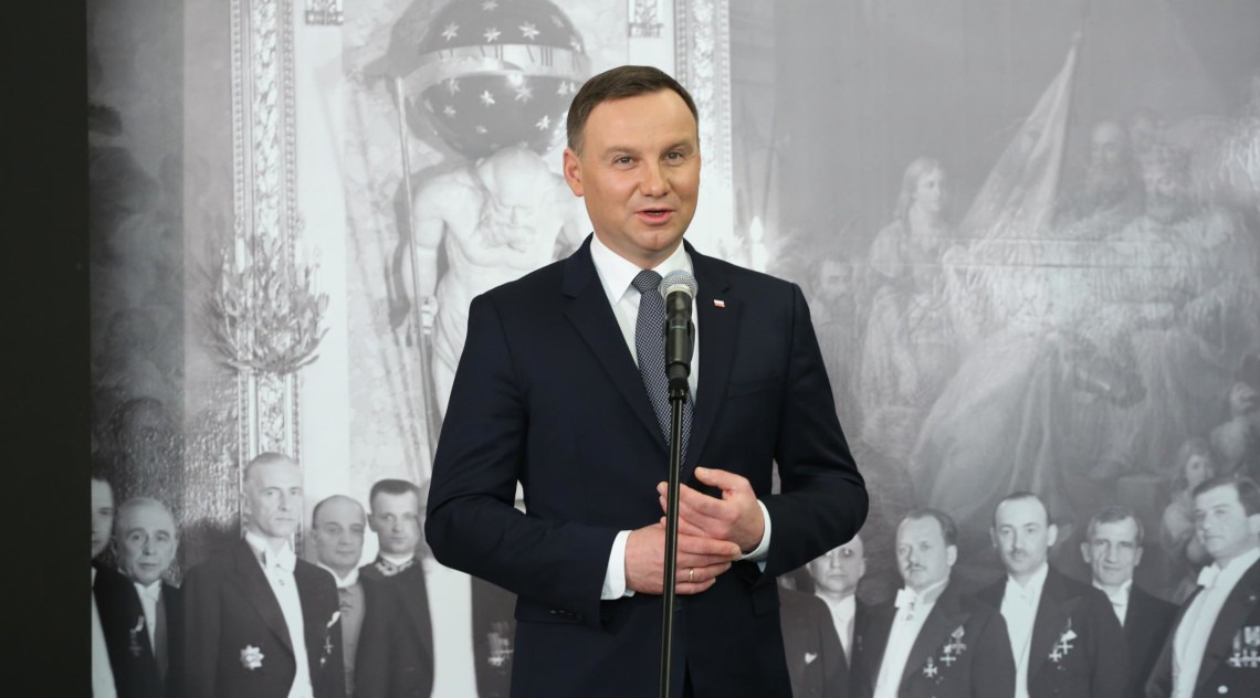Prezydent Andrzej Duda. fot. Michał Józefaciuk / Kancelaria Senatu