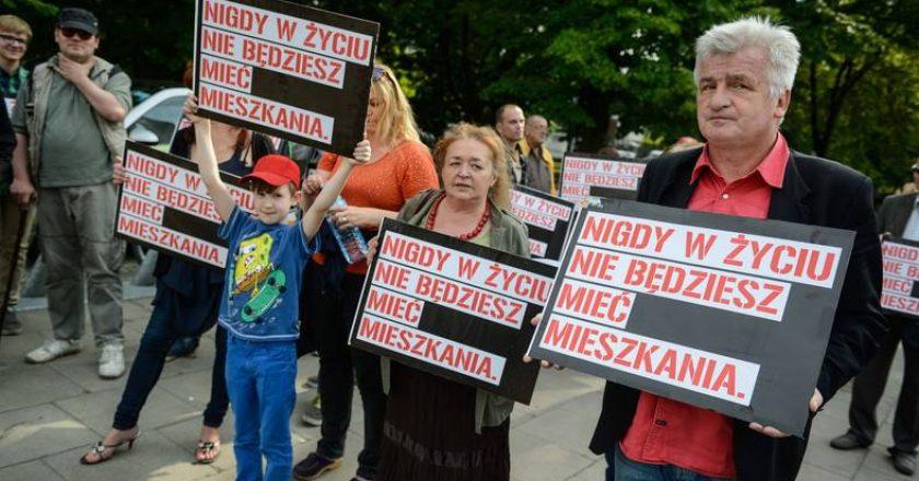 Ikonowicz-protest