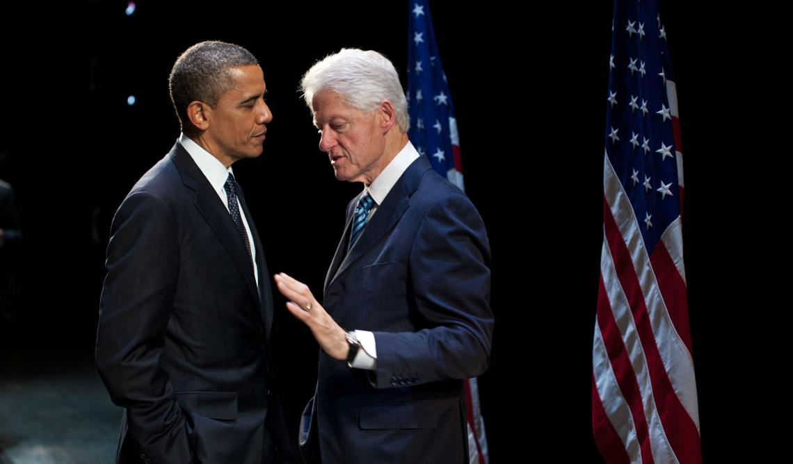 Barack Obama i Bill Clinton