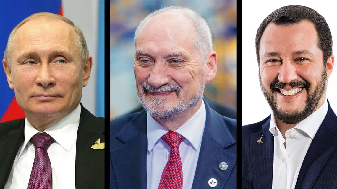 Putin-Macierewicz-Salvini