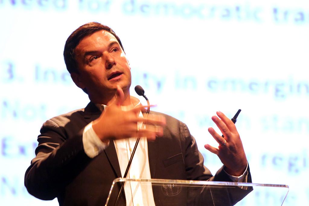 Thomas Piketty. Fot. Fronteiras do Pensamento, flickr.com