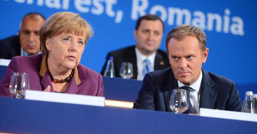 Angela Merkel i Donald Tusk. Fot. Europejska Partia Ludowa