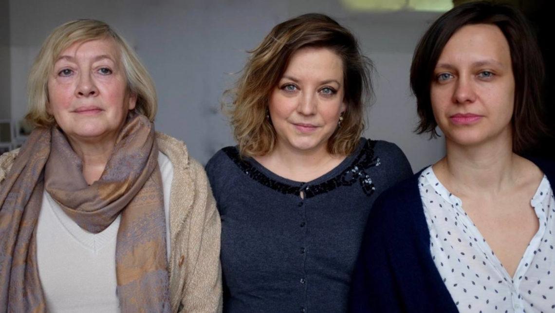 Wiesława Kozek, Julia Kubisa, Marianna Zielińska. Fot. archiwum Julii Kubisy