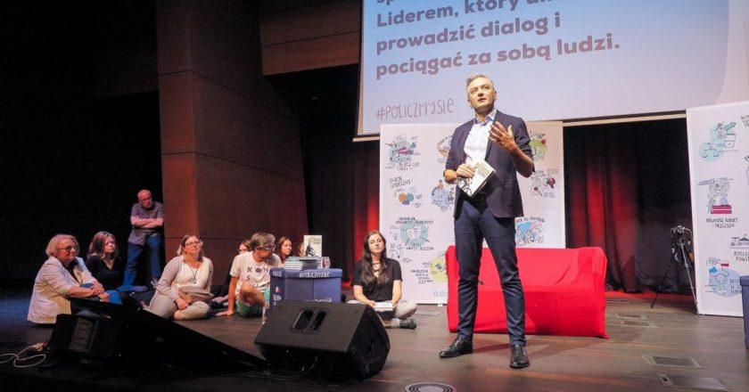 Robert Biedroń. Fot. z Facebooka @RobertBiedron