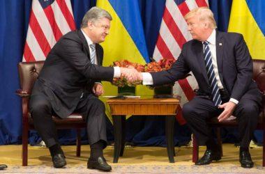 Petro Poroszenko i Donald Trump. Fot. Biały dom, wikipedia