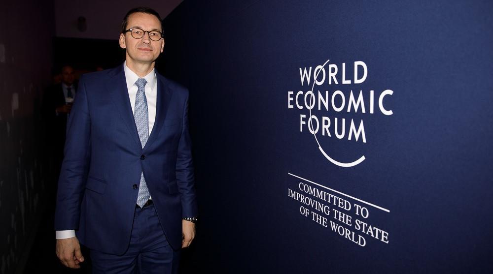 Mateusz Morawiecki w davos. Fot. Krystian Maj / KPRM