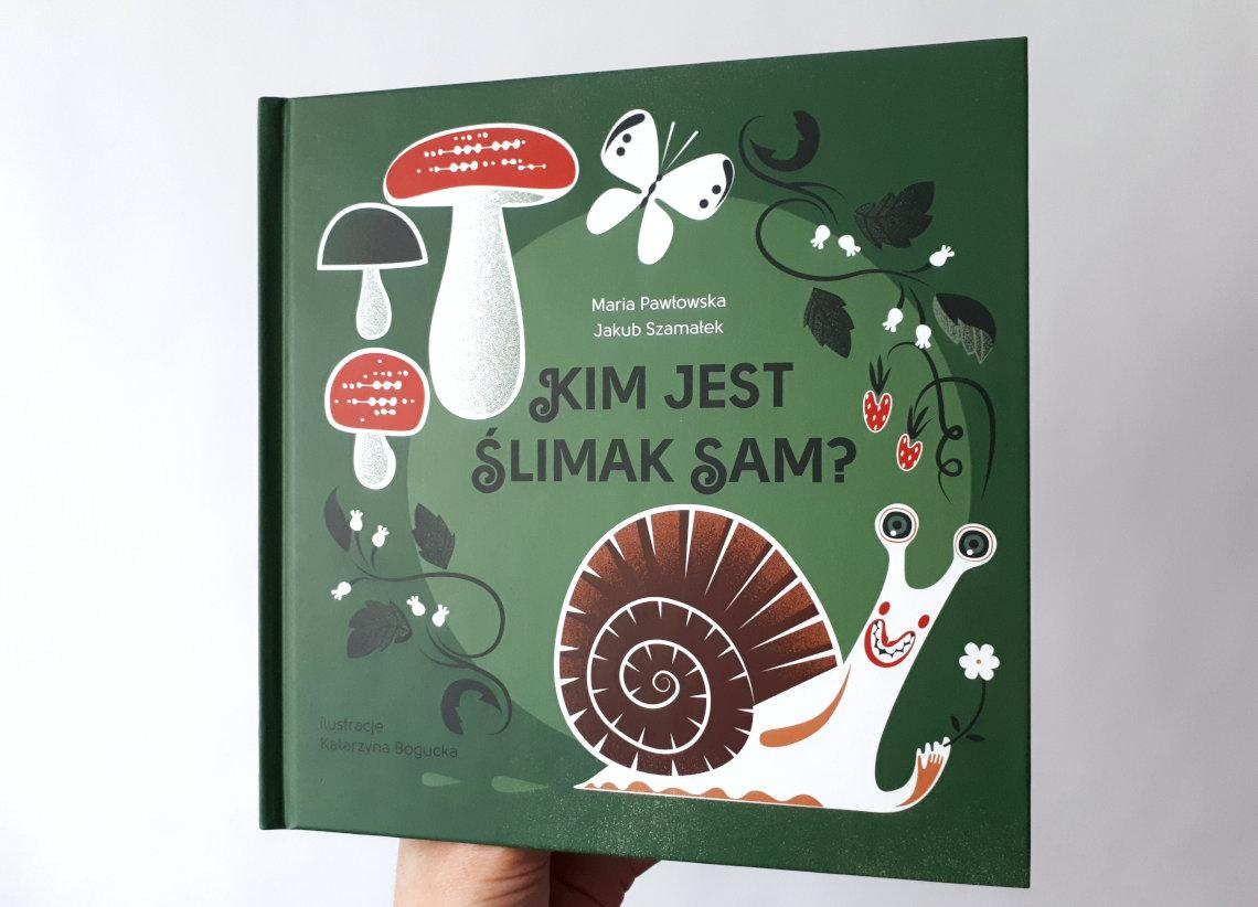 ślimak-sam-książka