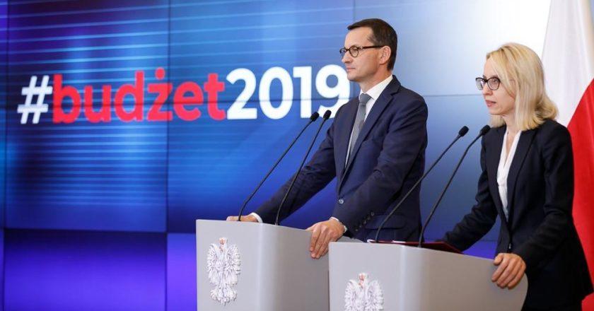 premier Mateusz Morawieckiego i ministra finansów Teresa Czerwińska