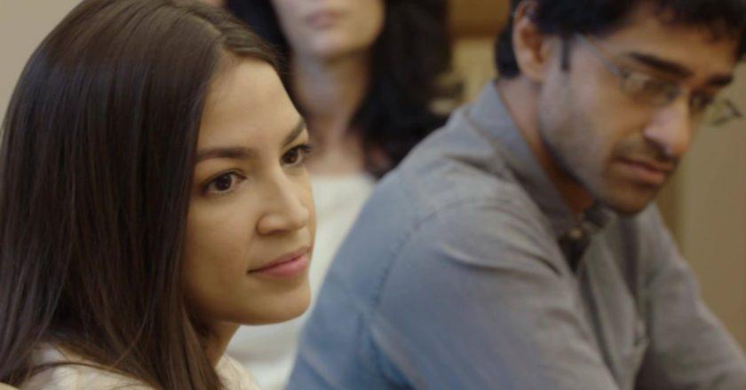 Alexandria Ocasio-Cortez i Saikat Chakrabarti. Fot. FB @OcasioCortez
