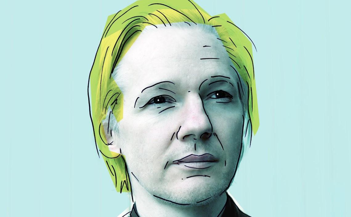 Julian Assange, Fot.Espen Moe, CC