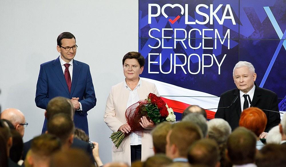 PiS, Morawiecki, Szydło, Kaczyński