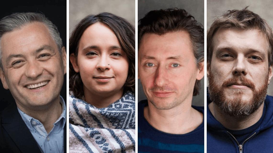 Robert Biedroń, Marcelina Zawisza, Maciej Gdula, Adrian Zandberg. Fot. J. Szafrański/A.Muras/M. Komorowski