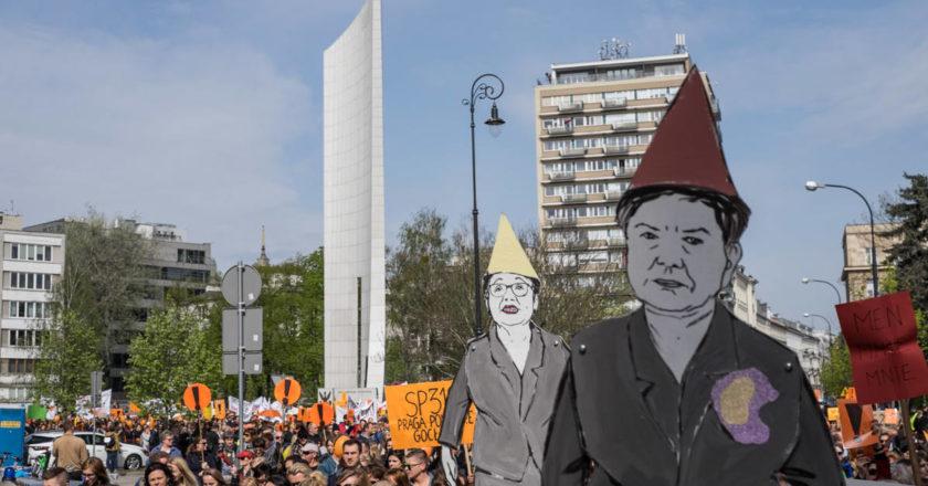 demonstracja-nauczycieli