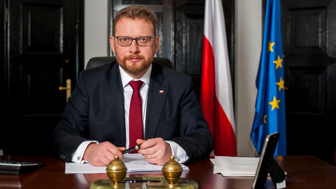 Minister zdrowia Łukasz Szumowski. Fot. flickr KPRM