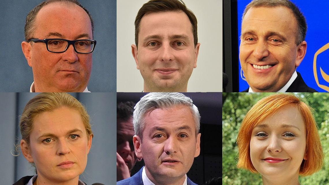 Czarzasty-Kosiniak-Schetyna-Nowacka-Biedron-Tracz