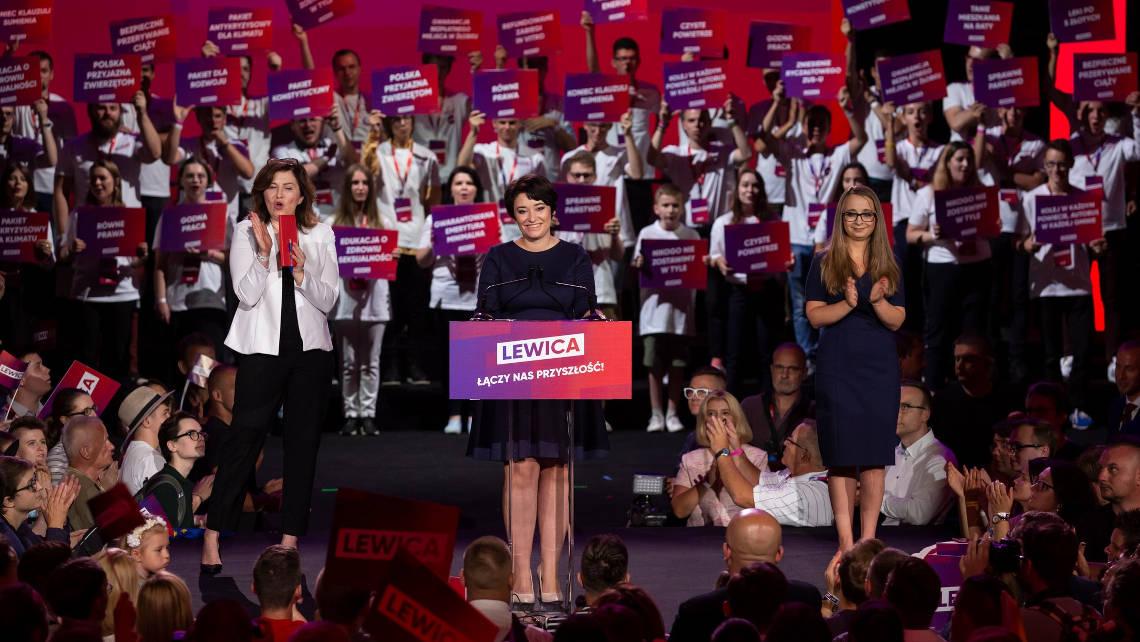 Konwencja programowa lewicy. Fot. FB @KomitetLewicy