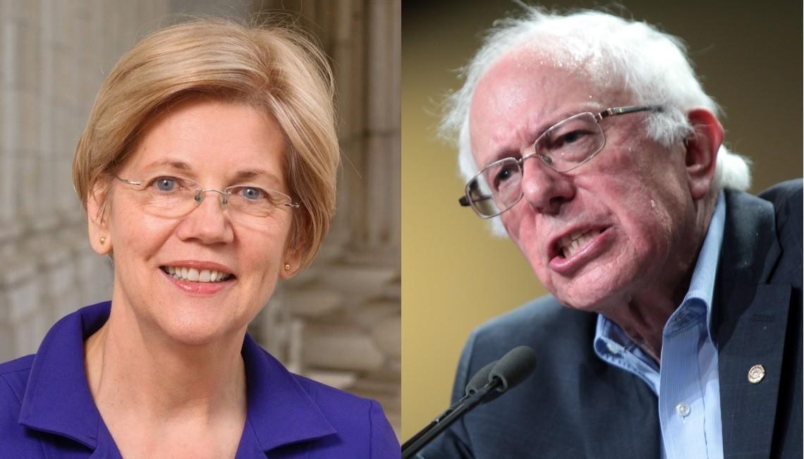 Elizabeth Warren i Bernie Sanders