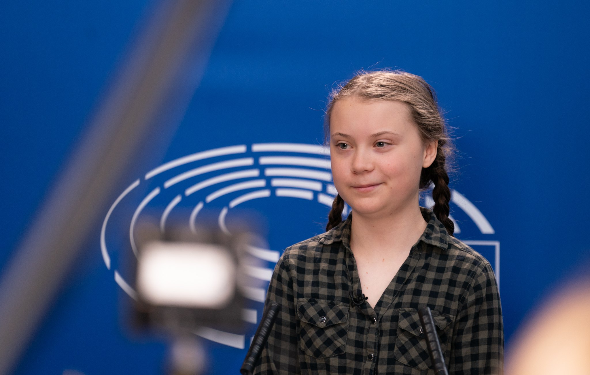 Greta Thunberg przemówienie