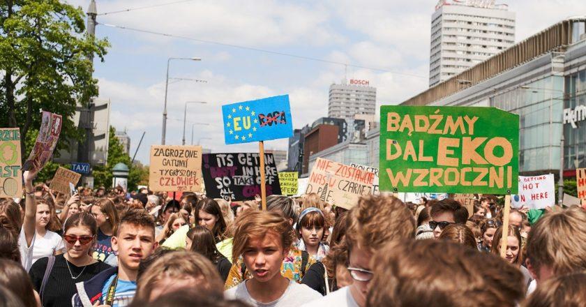 strajk klimatyczny nadzieja w mroku