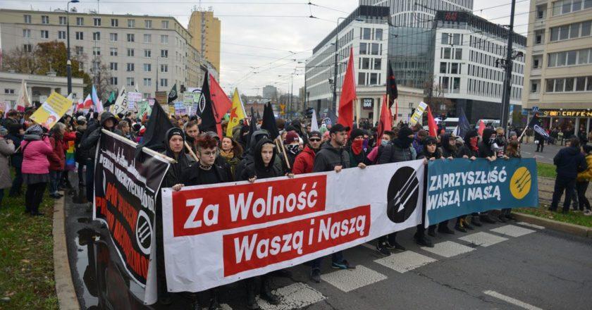 demonstracja antyfaszystowska 11 listopada 2019