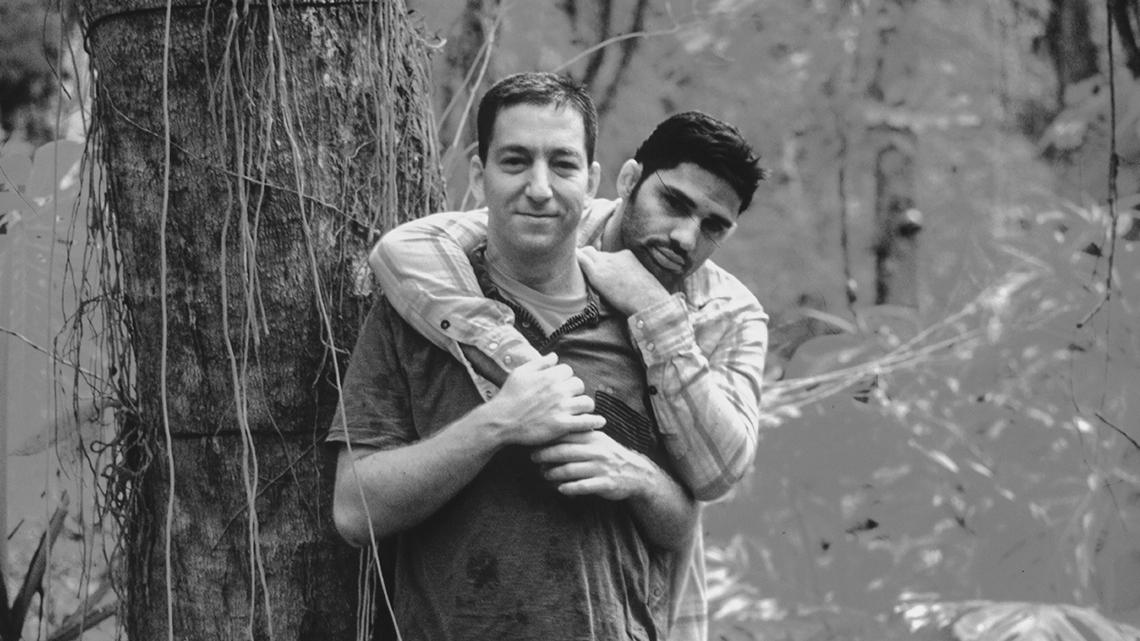 Glenn Greenwald i David Miranda. Fot. Jacob Appelbaum/flickr.com CC BY-NC-SA 2.0