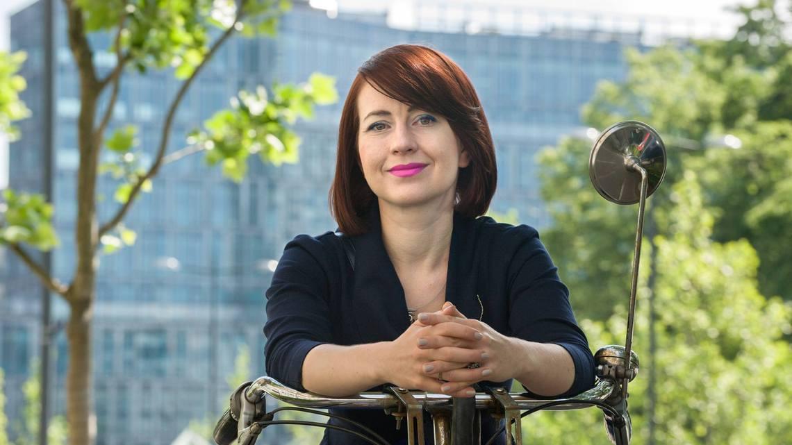 Joanna Erbel. Fot. Grzegorz Krzyżewski
