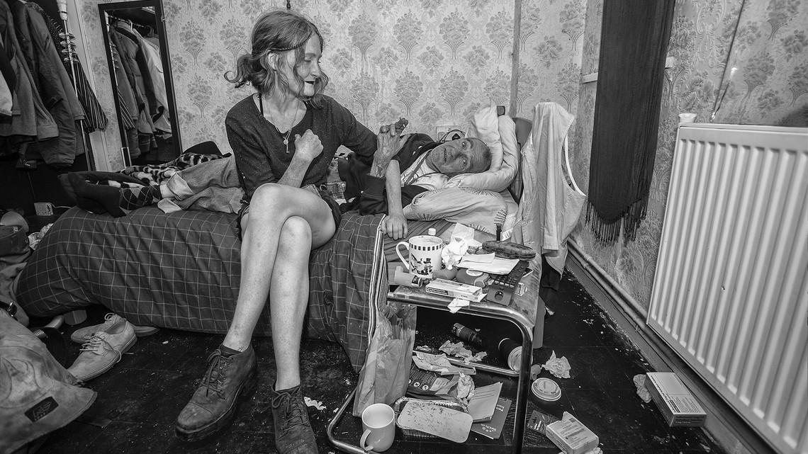 Mieszkańcy Londynu Mick i Jesh. Fot. Hugh Hill/flickr.com CC BY-NC-ND 2.0