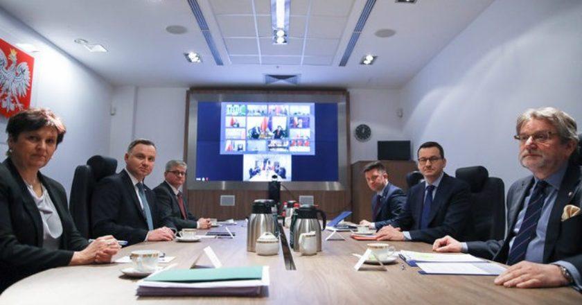 Rada Bezpieczeństwa Narodowego. Fot. Jakub Szymczuk/KPRP/Twitter