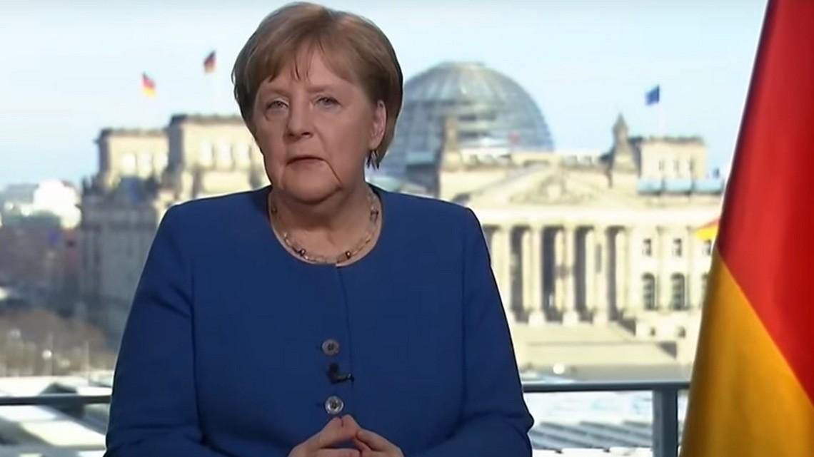 Angela Merkel. Fot. ARD/youtube.com