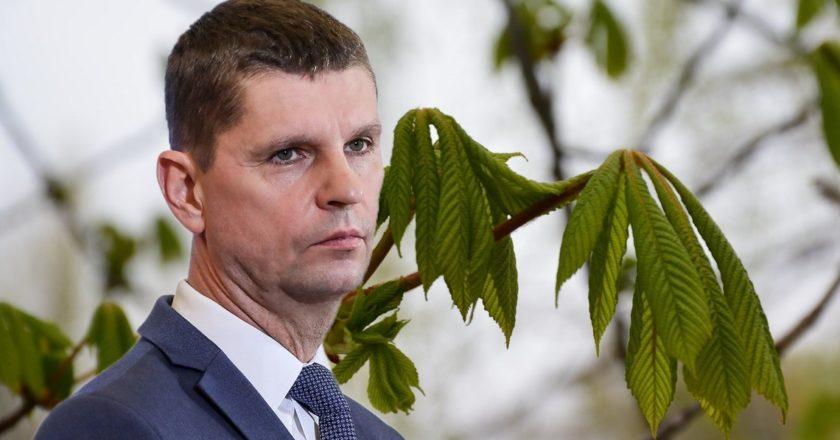 Minister Dariusz Piontkowski. Fot. Adam Guz/KPRM, Marcin Polak/flickr.com, Edycja KP