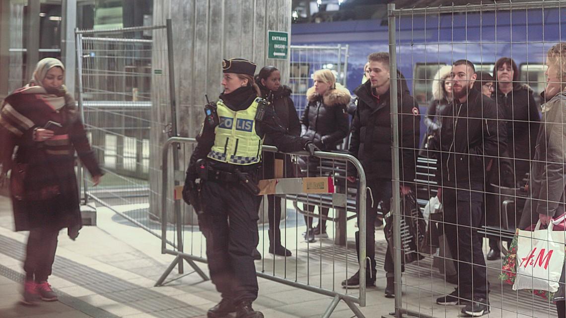 Kontrola graniczna w Hyllie. Fot. Sigfrid Lundberg/flickr.com