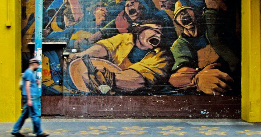 Mural w Buenos Aires. Fot. Eduardo Sánchez/Unsplash