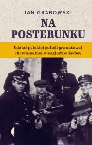"""Okładka książki """"Na posterunku"""" Jana Grabowskiego"""