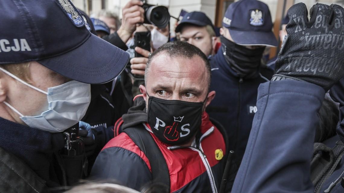 Strajk przedsiębiorców. Fot. Monika Bryk