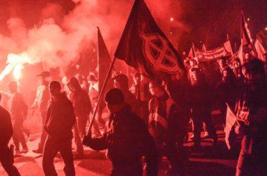 Marsz Niepodległości w Warszawie Fot. Jakub Szafrański