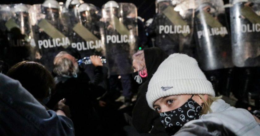 demonstracja wyrok na kobiety