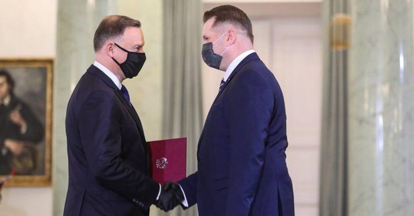 Andrzej Duda, Przemysław Czarnek