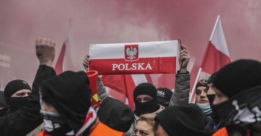 Marsz Niepodległości 2020 Fot. Monika Bryk