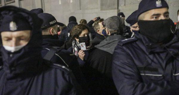 Strajk Kobiet, Warszawa, 18.11.2020 Fot. Monika Bryk