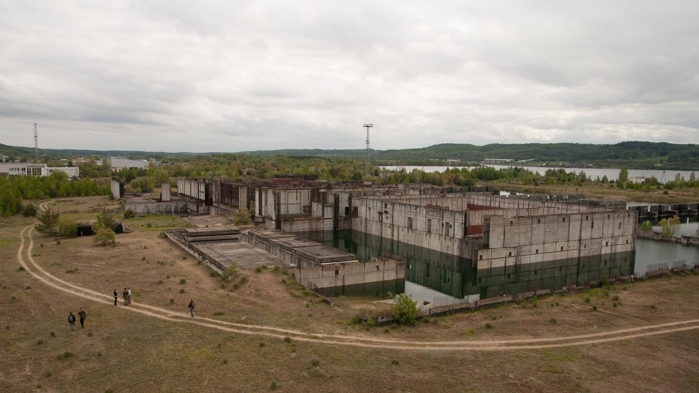 Porzucona budowa elektrowni atomowej w Żarnowcu. Fot. Adam Kuśmierz/Flickr.com