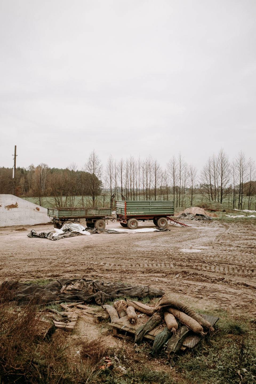 Gospodarstwo rolnicze Wojciecha Chrostowskiego we wsi Truszki-Zalesie, fot. Dawid Żuchowicz