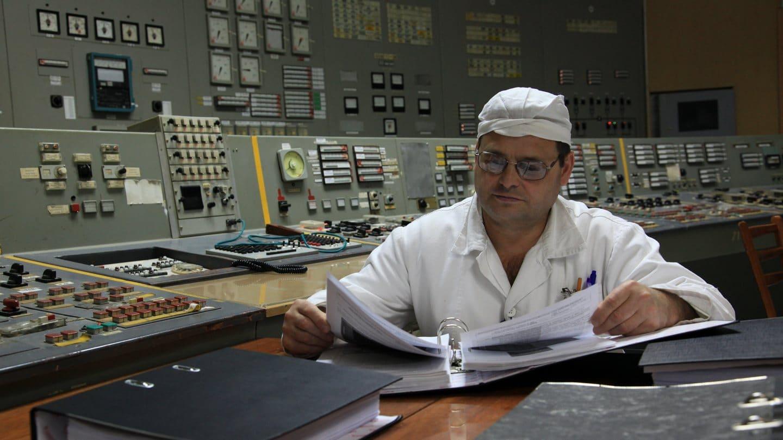 Pracownik reaktora numer 3 w Czarnobylu. Fot. Dana Sacchetti/IAEA.