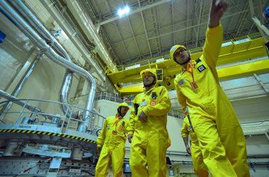 Szkolenie pracowników elektrowni atomowej Dukowany w Czechach. Fot. Dean Calma\IAEA
