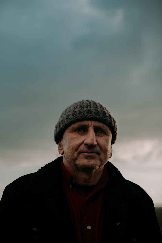 Robert Kuryluk, rolnik ekologiczny ze wsi Holeszów, fot. Dawid Żuchowicz