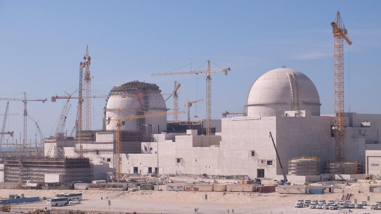 Budowa elektrowni atomowej w Zjednoczonych Emiratach Arabskich. Fot. IAEA/Flickr.com