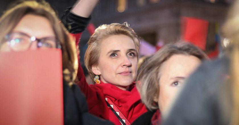 Joanna Scheuring-Wielgus. Fot. Marta Modzelewska